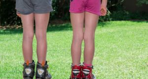 barevné šortky