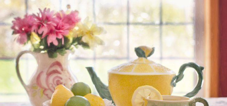 Kouzlo vody a citrónu